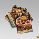 Material Publicitario – Flyer Casa Café