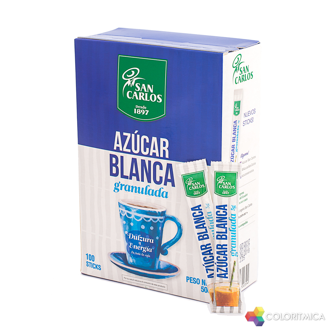 San Carlos – Azúcar Blanca Sticks