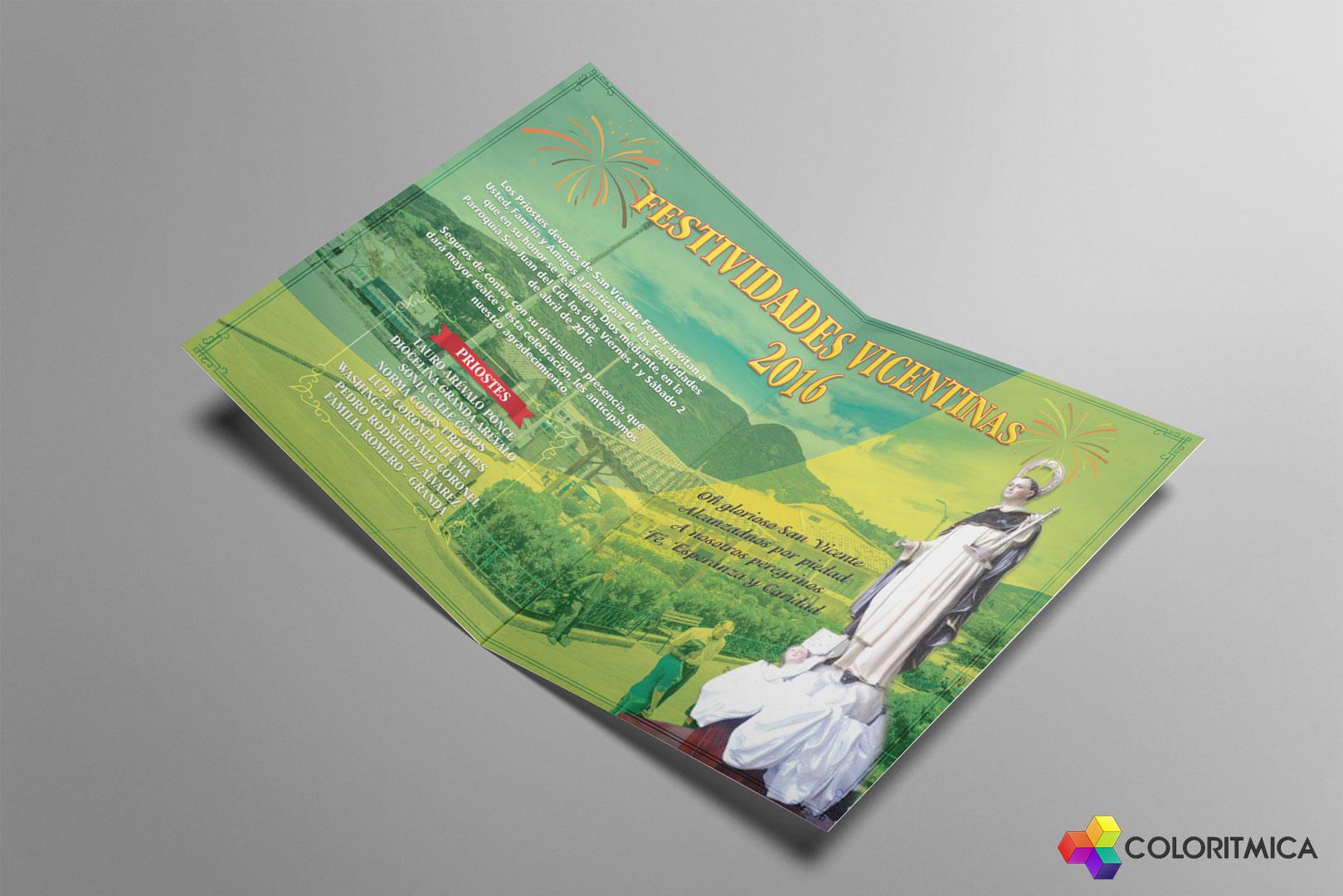 Material Publicitario – Festividades San Juan, Gualaceo, Azuay